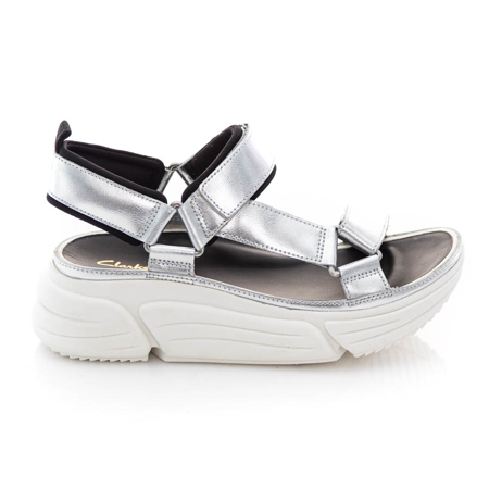 Picture of Clarks TriComet Go 26160190 Silver Metallic