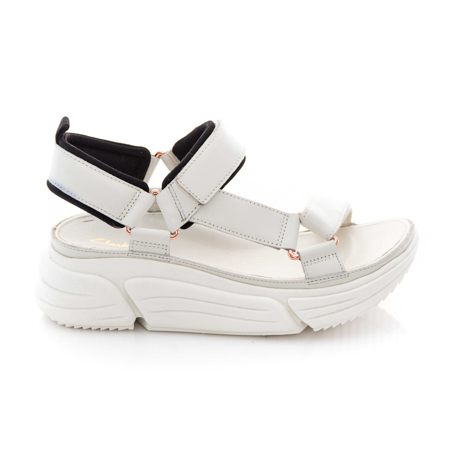 Picture of Clarks TriComet Go 26160192 White Leather