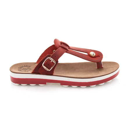 Picture of Fantasy Sandals Mirabella S9004 Red Brush
