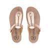 Picture of Fantasy Sandals Mirabella S9004 Rosegold Capitone
