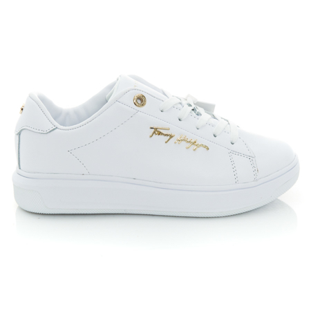 Picture of Tommy Hilfiger FW0FW05806 YBR White