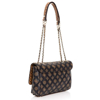 Picture of Guess Cessily HWPG767921 Mocha Multi