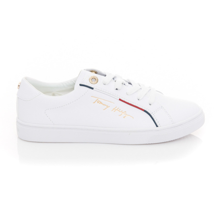 Picture of Tommy Hilfiger FW0FW05910 YBR White