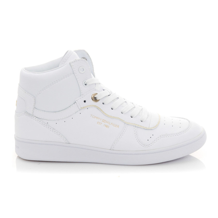 Picture of Tommy Hilfiger FW0FW06014 YBR White