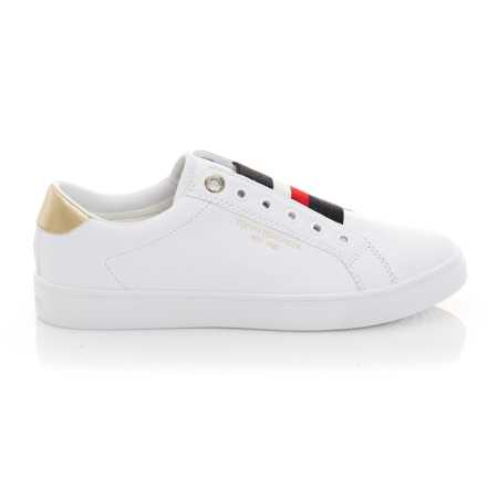 Picture of Tommy Hilfiger FW0FW05918 YBR White