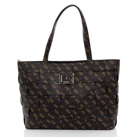 Picture of Guess Liberty Ciy HWSG813523 Brown Logo