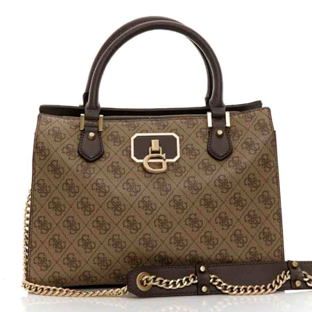 Picture of Guess Alisa HWBS812306 Latte Brown